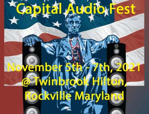 BorderPatrol with Volti Audio and Triode Wire Labs at CAPITAL AUDIOFEST 2021